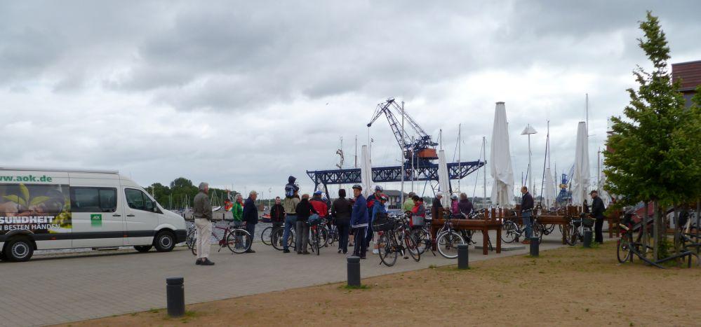 AOK Fahrrad-Tour in Rostock