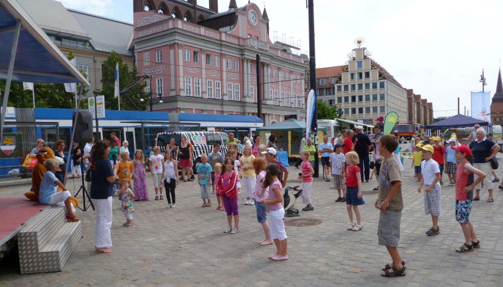 Ferien-Karawane in Rostock
