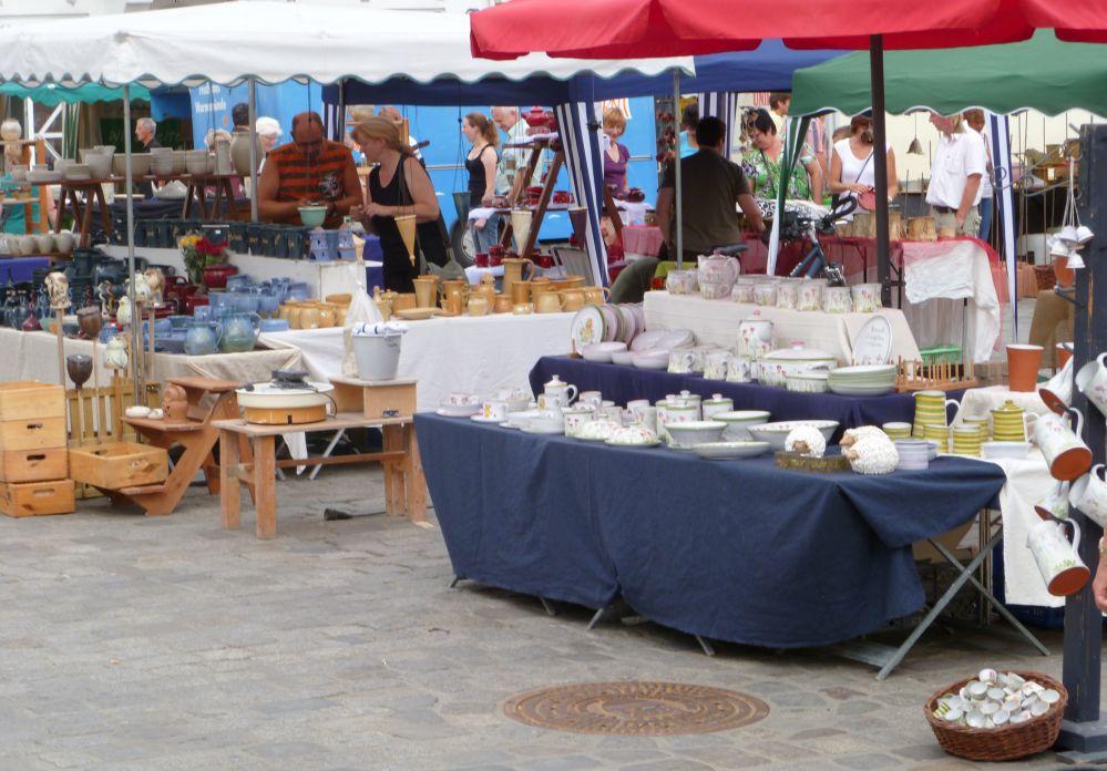 Veranstaltung Rostocker Töpfermarkt