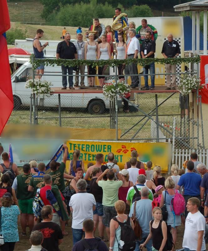 Sonntag, 8.6.2014 - 2. Tag des Teterower Bergringrennens zu Pfingsten