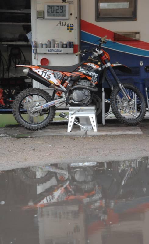 Speedway auf der Bergring-Arena 2013 - ins Wasser gefallen
