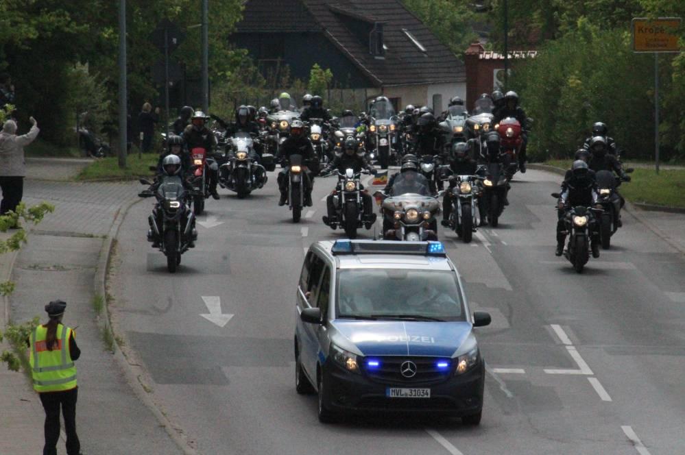 Bikergottesdienst Bad Doberan 2017