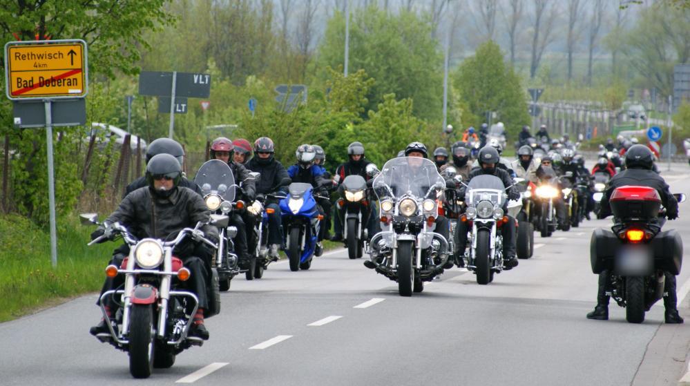 Motorradgottesdienst 2010 in Bad Doberan