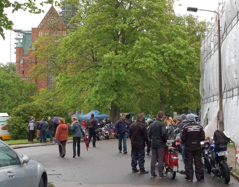 17. Bikergottesdienst 2014 in Bad Doberan