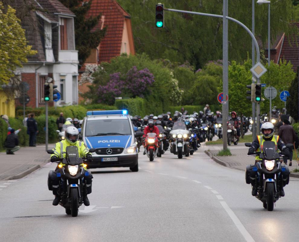 18. Bikergottesdienst 2015 in Bad Doberan