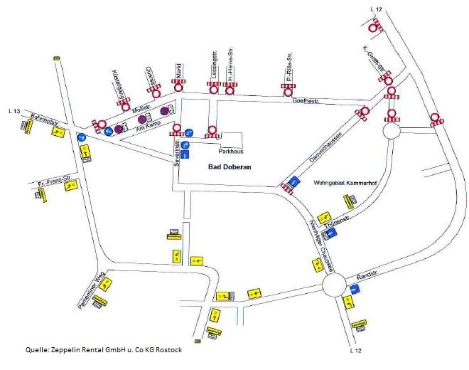 Straßensperrungen zum Mollilauf 2016