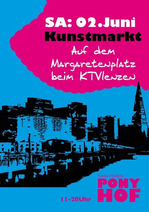 Ponyhof - Kreativ - Markt - Plakat