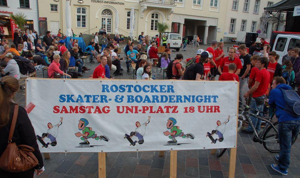 Rostock rollt zur 15. Rostocker Skater- & Boardernight 2013