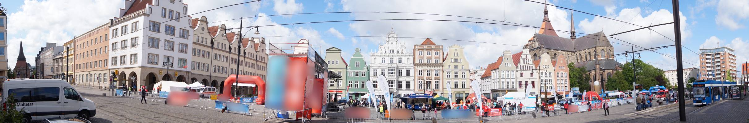 Halbmarathonlauf beim 23. Rostocker Citylauf 2015