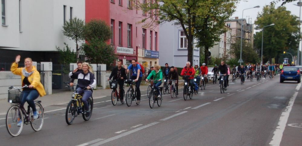 Rostocker Critical Mass - Stadtrundfahrt am 29. August 2014