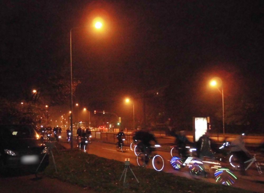 Rostocker Critical Mass - Stadtrundfahrt am 31. Oktober 2014