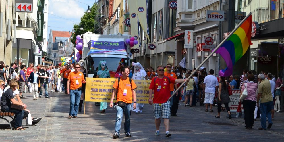 CSD am 17.07.2011 in der Hansestadt Rostock