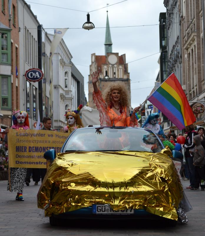 Christopher Street Day 2012 in der Hansestadt Rostock