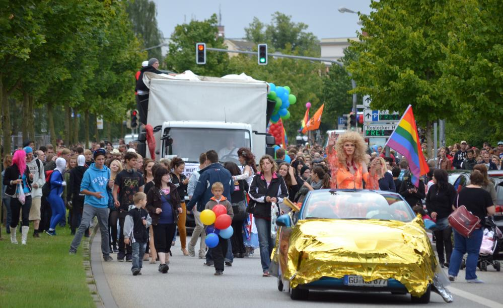 Christopher Street Day 2012 in der Hansestadt Rostock
