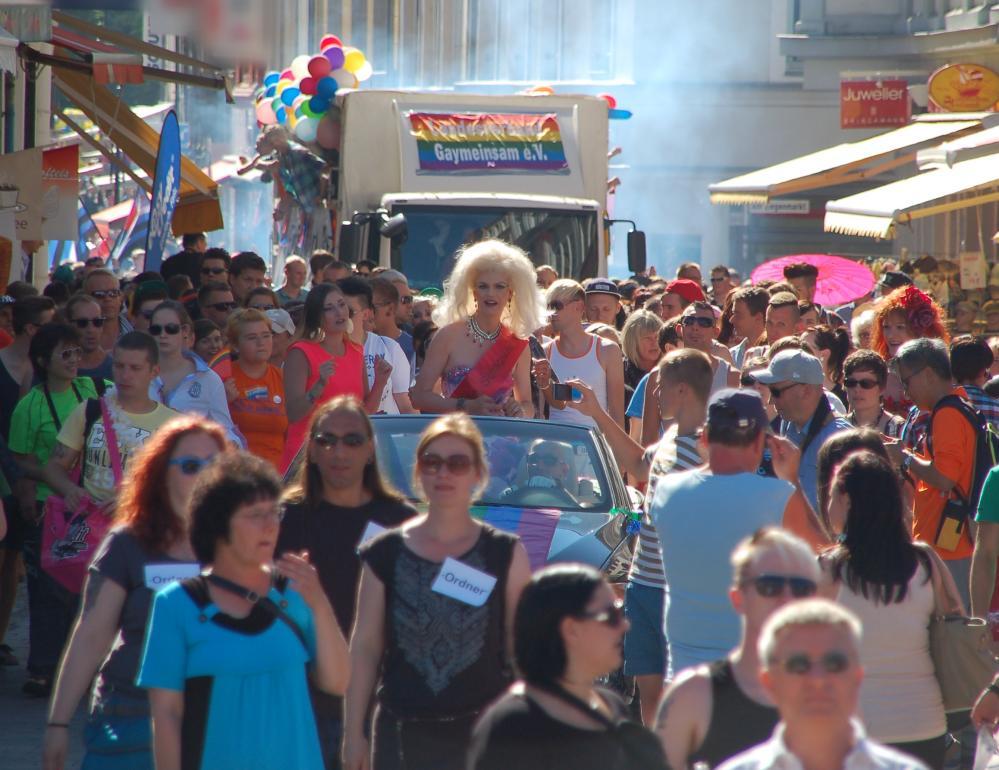 Christopher Street Day HRO 2013 - Parade des CSD 2013 in der Hansestadt Rostock