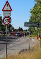 Demonstration Gemeinsam gegen Rassismus in Rostock - Groß Klein am 11.06.2016