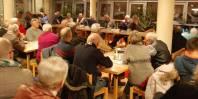 Informationsveranstaltung  der Bürgerinitiative zum Erhalt des Fährbecken in Warnemünde auf der Mittelmole