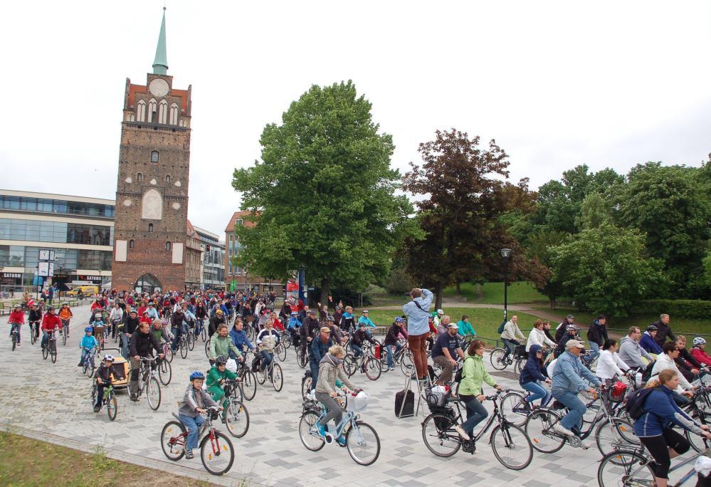 1. Fahrradfahrt Tour de Rostock 2013