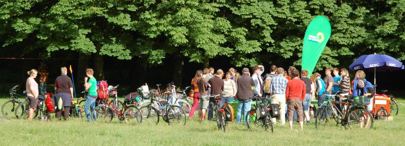 1. Fahrradwoche der Universität Rostock 2014