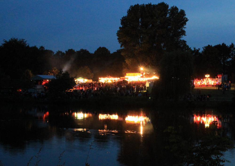 Fischerfest am Schwanenteich in Reutershagen