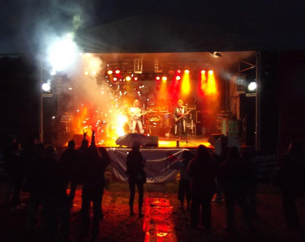 Oldie Company beim Fischerfest am Schwanenteich! 2012