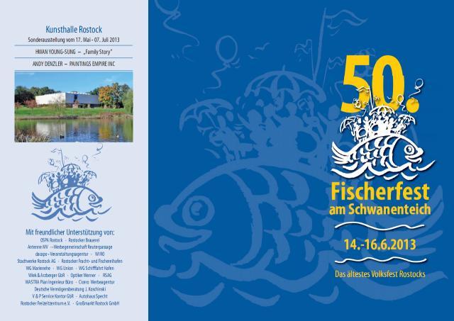 Programm Fischerfest 2013 am Schwanenteich Rostock