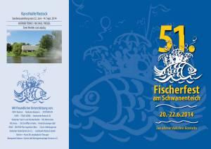 Programm 51. Fischerfest am Schwanenteich in Rostock - Reutershagen 2014