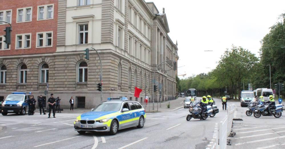 G20-Gipfel 2017 in der  Hansestadt Hamburg