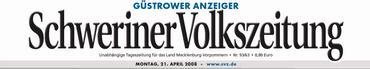 """""""Güstrower Anzeiger"""" der """"Schweriner Volkszeitung"""""""