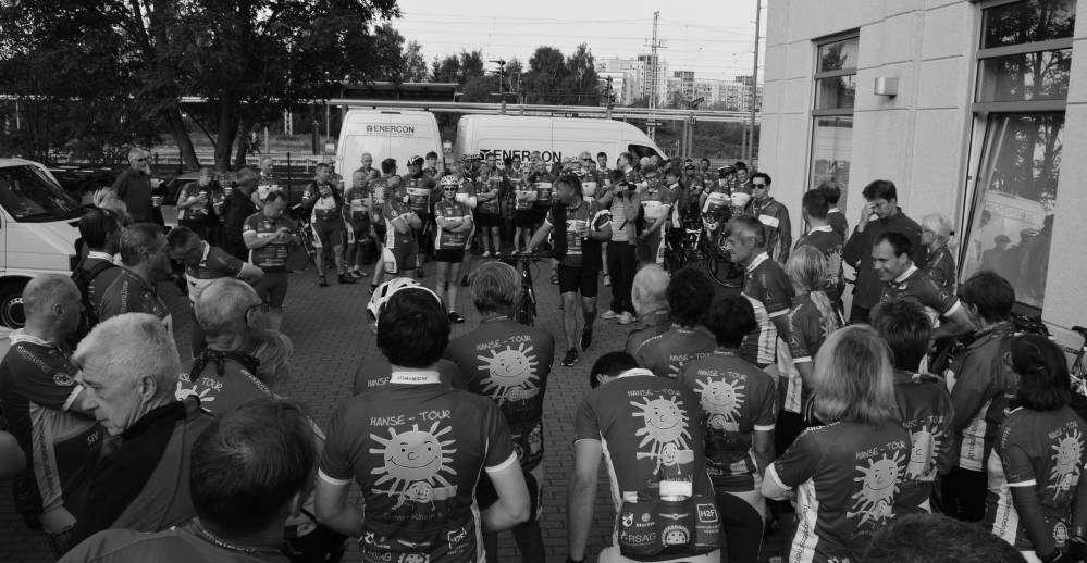 Rostocker Fahrrad-Langstrecken-Spendenfahrt Hanse-Tour-Sonnenschein 2014