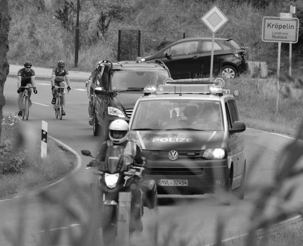 Rostocker Fahrrad-Langstrecken-Spendenfahrt Hanse-Tour-Sonnenschein 2014 - Kröpelin