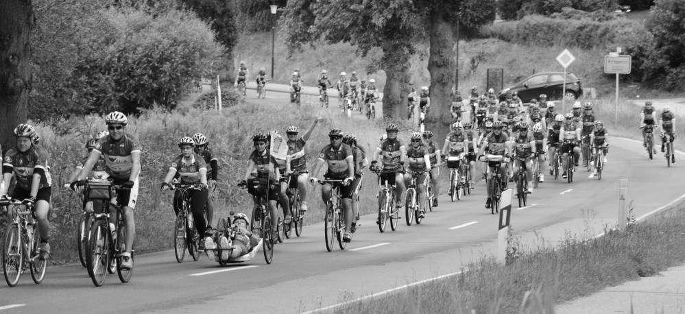 Fahrrad-Langstrecken-Spendenfahrt Hanse-Tour-Sonnenschein 2014 - Kröpelin