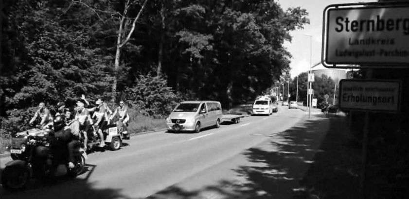 Start der Rostocker Fahrrad-Langstrecken-Spendenfahrt Hanse-Tour-Sonnenschein 2014