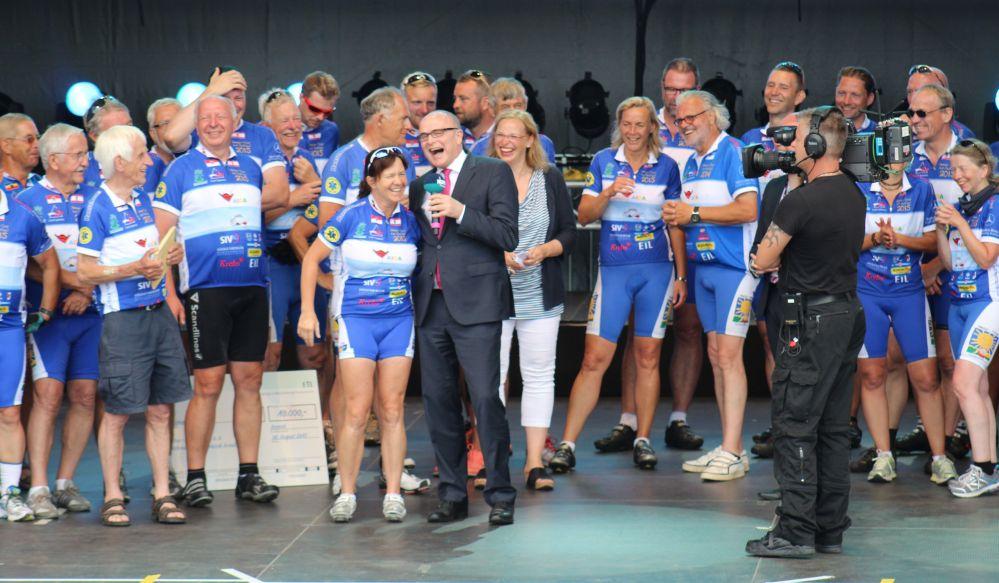 Hanse-Tour-Sonnenschein 2015 - Ankunft in Rostock bei der Hanse Sail