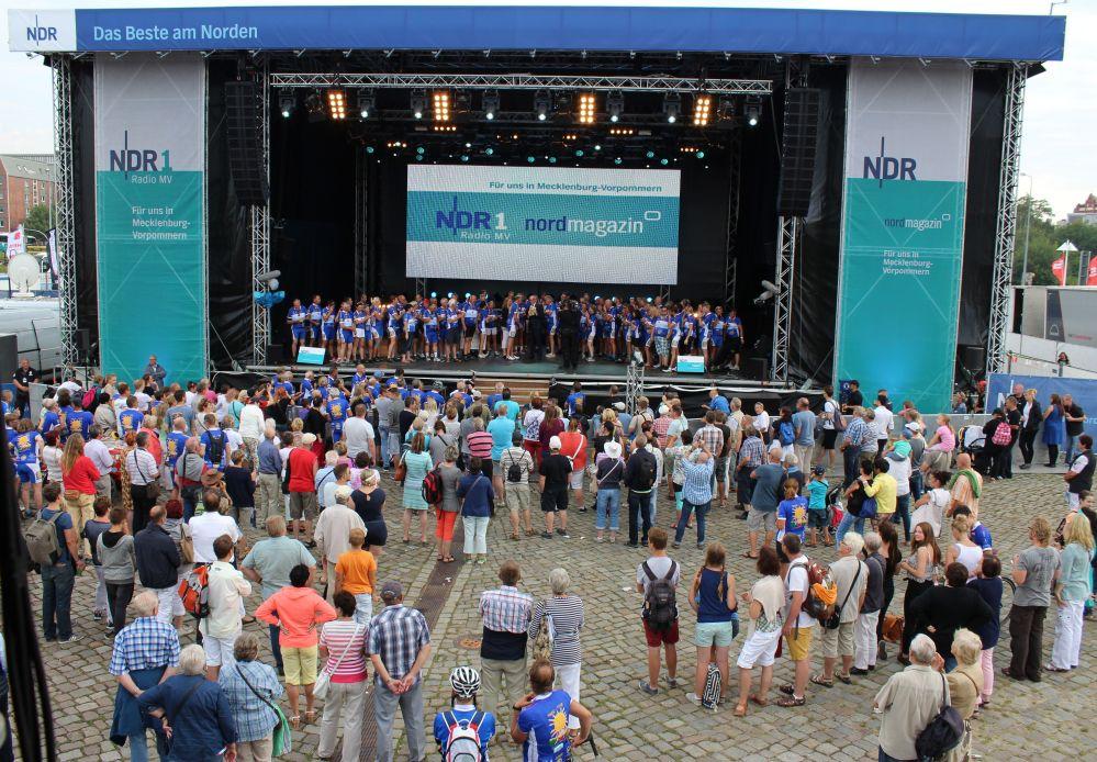 Hanse-Tour-Sonnenschein 2015 - Rückkehr nach Rostock zur Hanse Sail