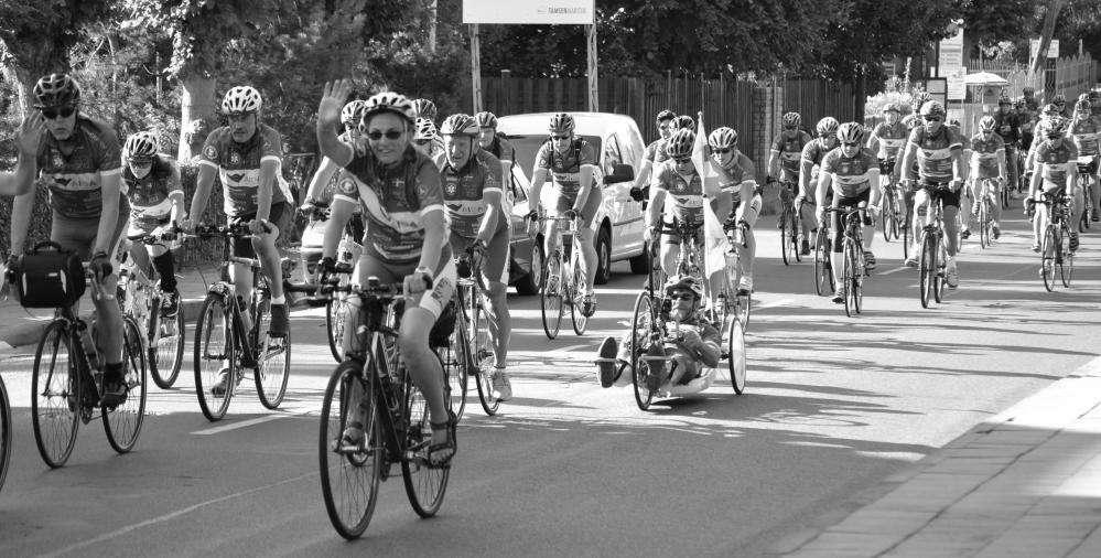 Hanse Tour Sonnenschein  2012 - Rückkehr nach Rostock