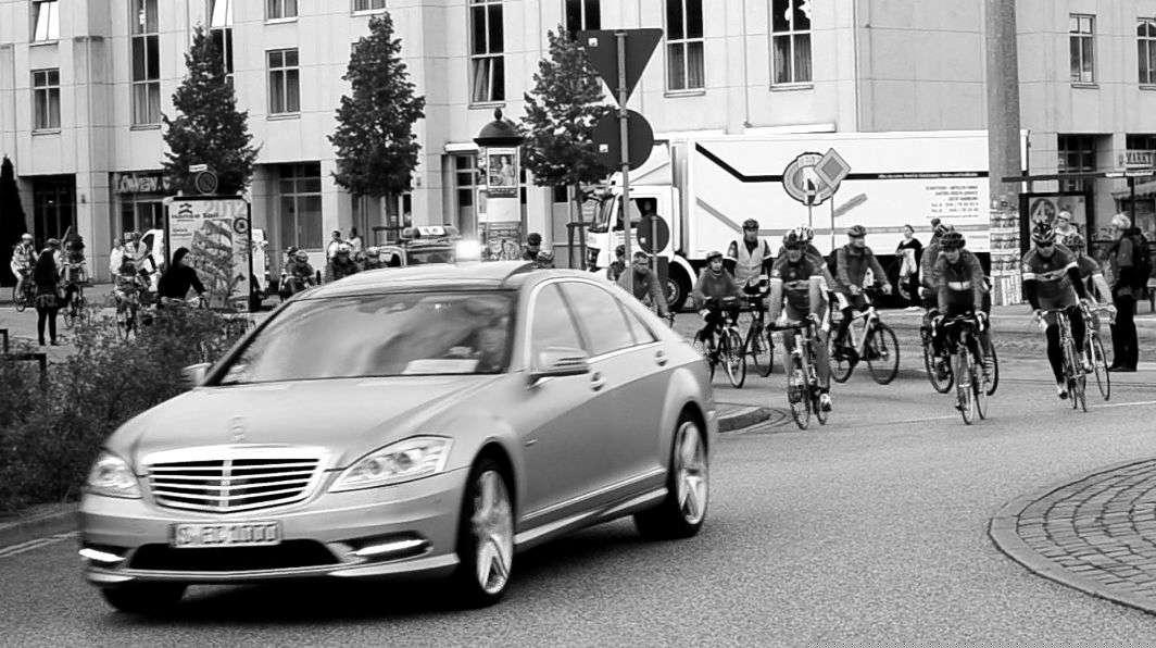 Start der Hanse-Tour-Sonnenschein 2012 in Rostock