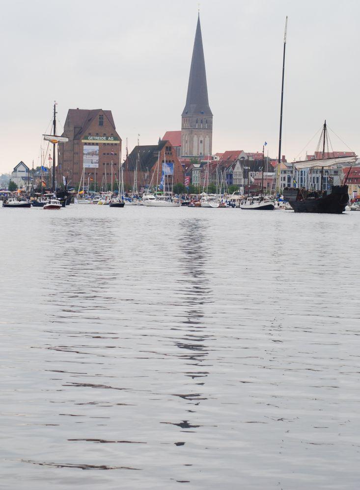 erste Eindrücke von der 20. Hanse Sail 2010 in Rostock