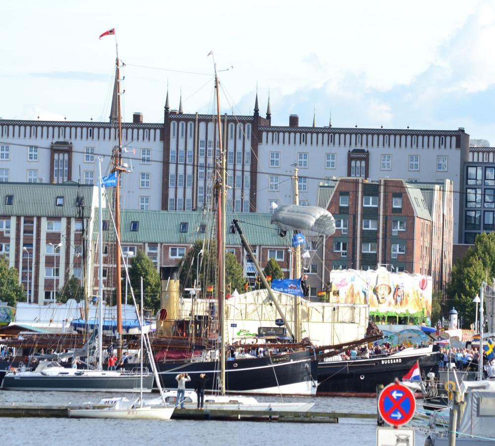 22. Hanse Sail 2012 in der Hansestadt Rostock