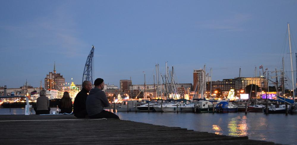 Hanse Sail in der Hansestadt Rostock