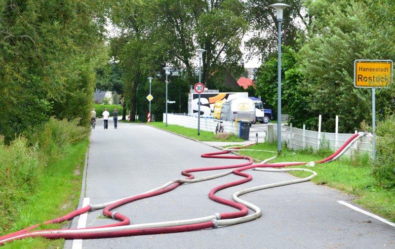 Ortseingang Rostock - Evershagen-Dorf