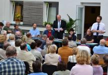 Einwohnerversammlung zur Hochwassersituation in Rostock-Evershagen