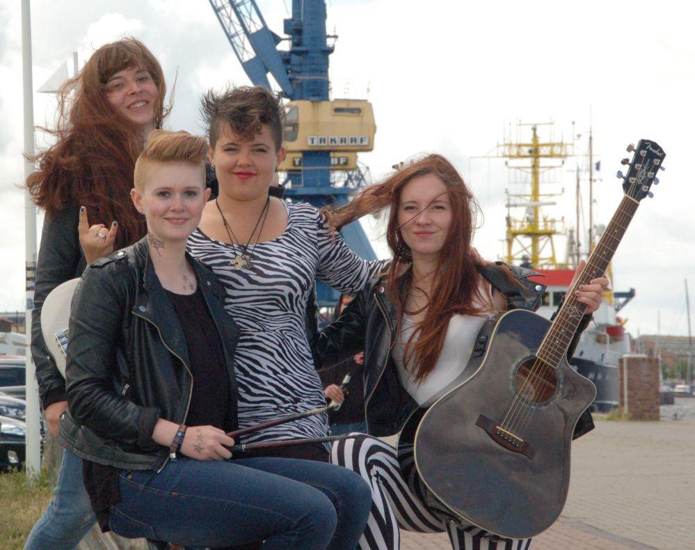 Jesters - die närrische Mädchen-Band mit großer Stimme aus Rostock