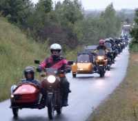 Jumbofahrt Mecklenburg 2003 * Richtung IGA durch den Landkreis Doberan