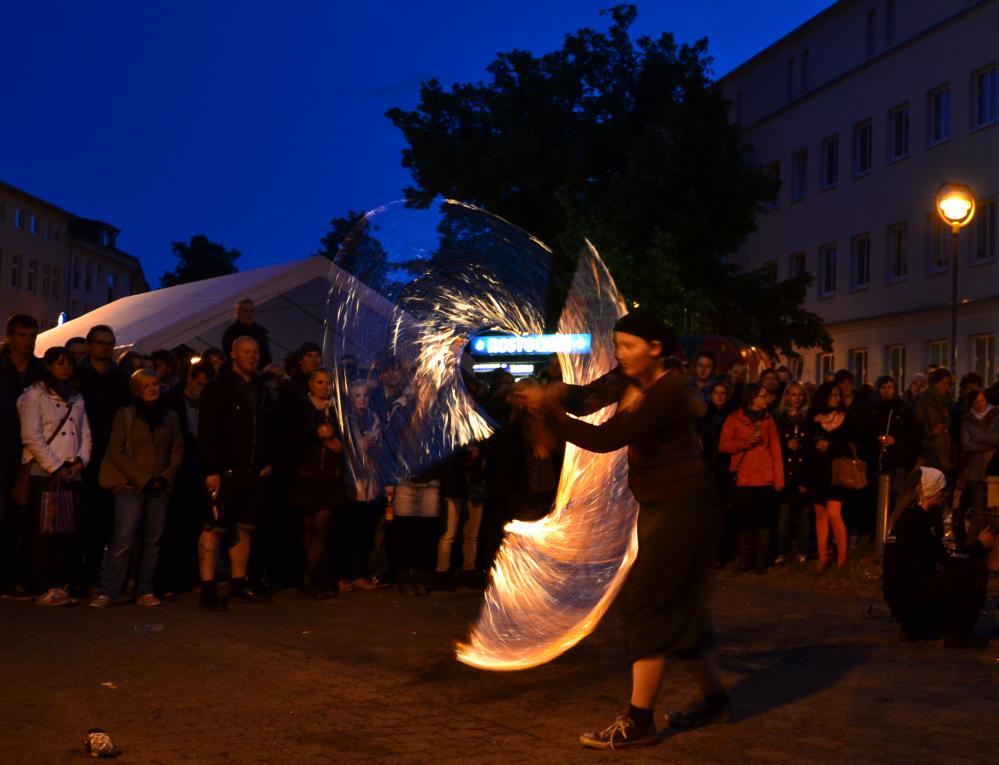 KTVlenzen 2012 - Feuershow zum Abschluß des KTV-Stadtteilfest