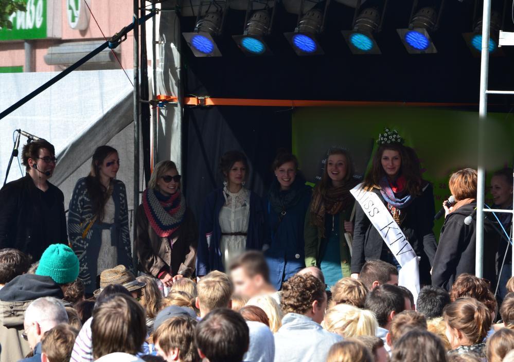 KTVlenzen 2012 - Wahl der Miss KTV auf dem KTV-Stadtteilfest