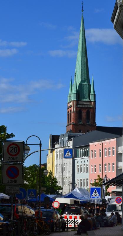 Heiligen-Geist-Kirche beim KTVlenzen 2012 - dem KTV-Stadtteilfest