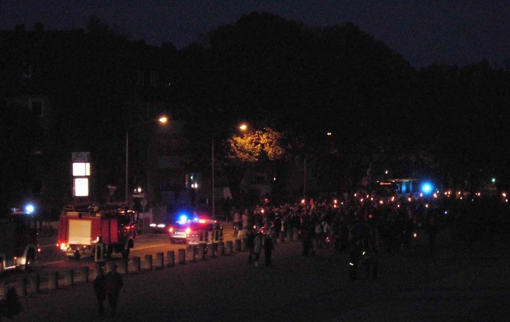 6. Lampionumzug rostock 24.10.2014 rote erde im Hansaviertel