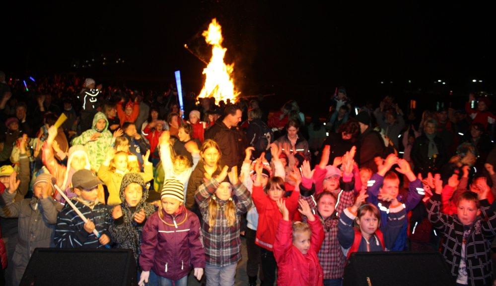 Laternenfest im IGA Park Rostock 2009