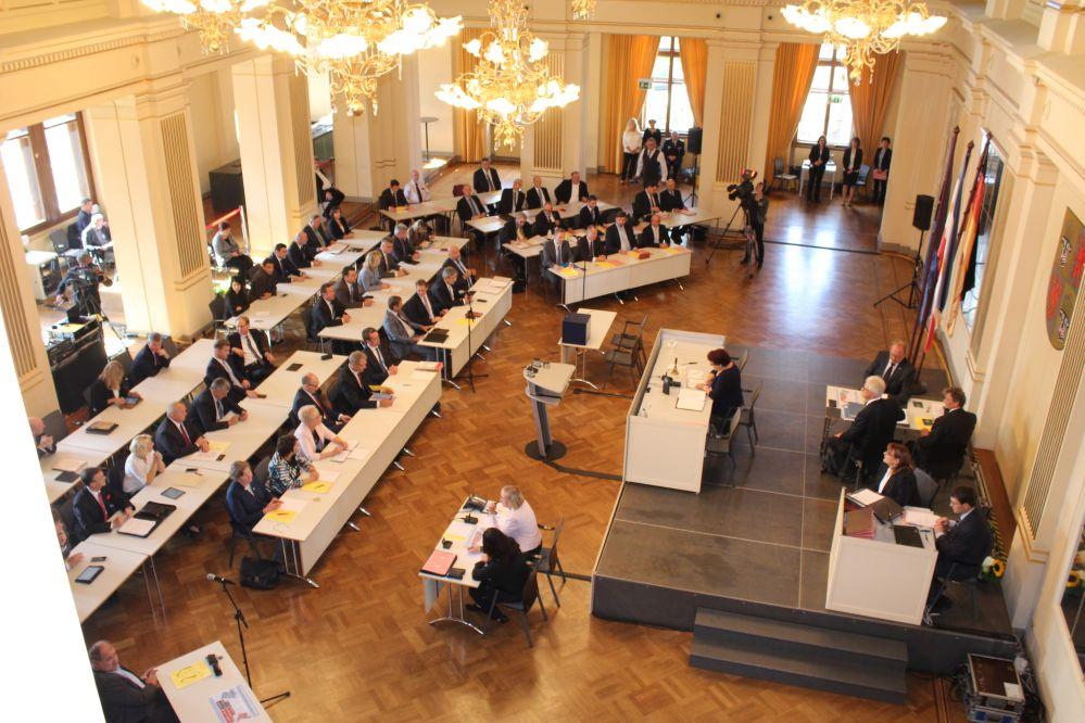 Konstituierende Sitzung des Landtages von MV am 4. Oktober 2016